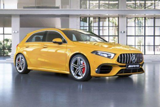 a762154e4a513529d7e5e70cd8e6d2a9 520x347 - «Горячие» модели Mercedes-AMG A 45 и CLA 45 доступны для заказа в России