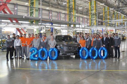 dfe5b0d381319fd0a8d1213a4edf3bc6 520x347 - Завод «Мазда Соллерс» выпустил 200-тысячный автомобиль