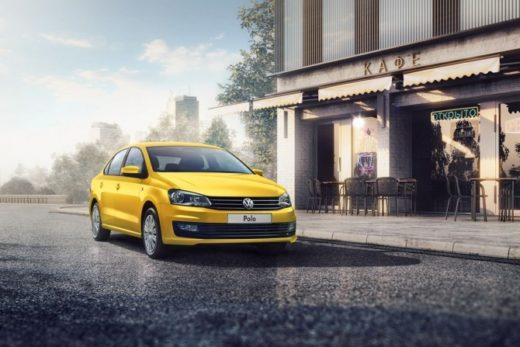 02ad4328a72ab17cdc35a3e466ce73bb 520x347 - Volkswagen Polo получил желтый цвет для такси