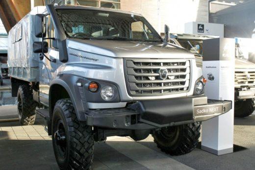 05fddd4cdeab62e68915af3e0bbc5d9c 520x347 - ГАЗ представил новый внедорожный грузовик «Садко Next»