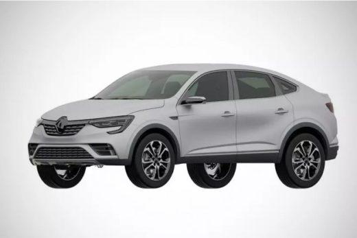 172f4a54f501effea784920691ddf6b8 520x347 - В России запатентовали внешность купе-кроссовера Renault Arkana