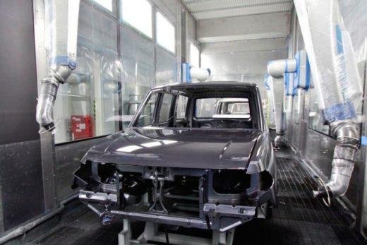 281c7ec98e0aceecd93bc9b32a160158 520x347 - УАЗ завершил модернизацию роботизированной линии окраски кузова