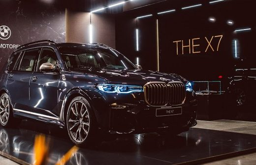 3abc54c1eb0debc3a46ae44ae5e0f949 520x335 - BMW представил в России новый кроссовер X7