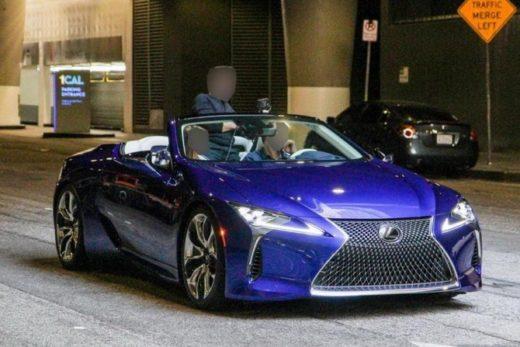 3b0ae82652df98a9303f633d0f92ae11 520x347 - Серийный кабриолет Lexus LC рассекречен до премьеры