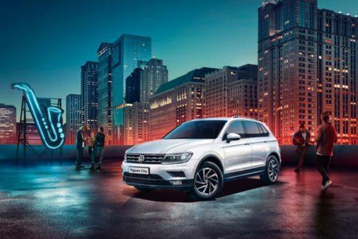56038344f4acf794da9f647d7d1fc18b 520x347 - Volkswagen представил в России спецверсию Tiguan City