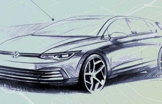 5792d67701de1d5710d3ad805dd29fcb 520x335 - Volkswagen раскрыл внешность нового Golf