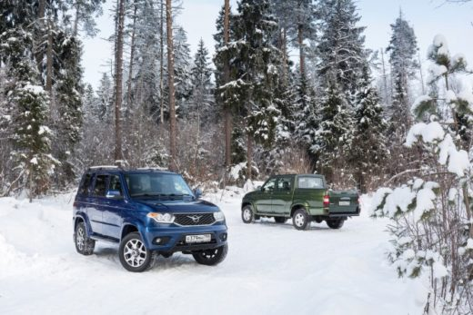 5940124621fd02f57b748fd82eaef0e2 520x347 - Автомобили УАЗ «Патриот» и «Пикап» получили новые ценники