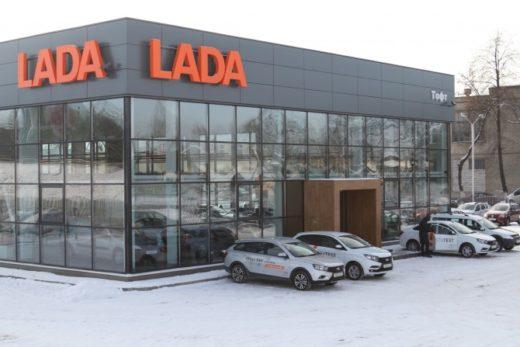 5ca6d1de996fa094813adae7580509ac 520x347 - В Белоруссии открылся новый дилерский центр LADA