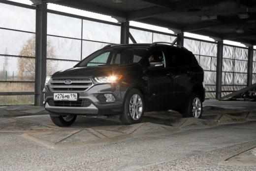 5e2a895a21195a74958d1c4dd67a71fd 520x347 - Ford адаптировал новый Kuga для российского рынка