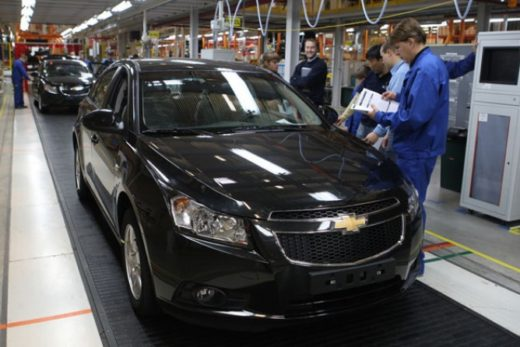 60b3ae9df9f73d24b3fb6397268537a0 520x347 - Питерский автозавод GM не будут продавать