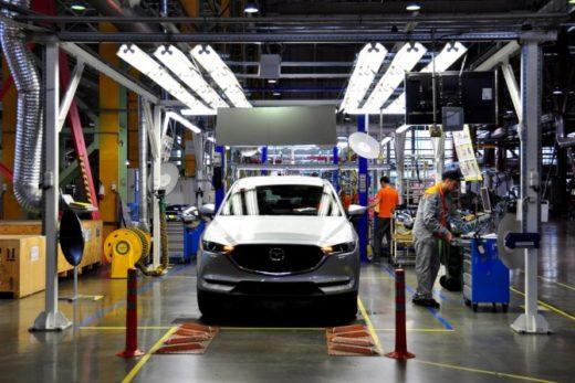 62fb9f0820b56cdeccda2c597d5cba93 520x347 - Завод Mazda Sollers планирует увеличить производство в 2018 году почти на 30%