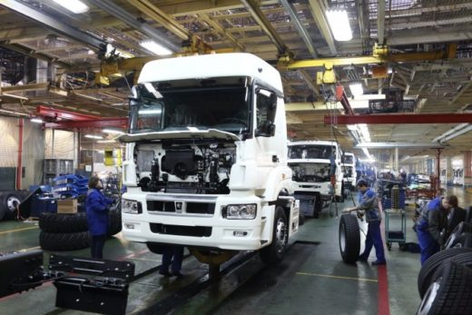 68d24cb4c46f522918bc1e0c6e957229 520x347 - КАМАЗ в I квартале увеличил производство на 7%