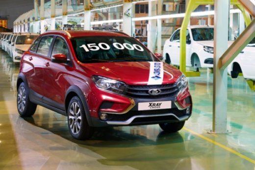 728616da89349016ab06e0b60f68c5e8 520x347 - LADA XRAY Cross стал 150-тысячным автомобилем «Азия Авто»