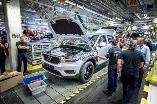 86d9b63cd4b66828720a1946ba4fcb26 520x347 - Volvo начала производство кроссовера XC40 на заводе в Бельгии
