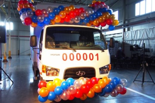 89f09a69b3369225d0bf1a72556622ea 520x347 - «Автотор» начал производство грузовых автомобилей Hyundai HD78 по полному циклу