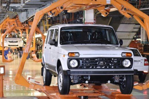 9993728749b4a0da8b7d37035556b47f 520x347 - АВТОВАЗ начал производство LADA 4х4 5d на главном конвейере