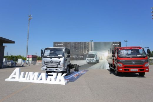 9e8736fea92bb397229bd1b3d599326d 520x347 - Foton представит в России новый грузовик Aumark S