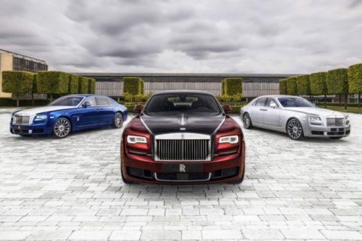 a9532abacb84d301c287f50177e57d26 520x347 - Rolls-Royce выпустил прощальную версию Ghost