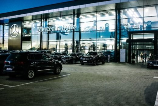 bf6ed8069590cd0f5269b0d68a01502d 520x347 - Mercedes-Benz открыл новый дилерский центр в Москве