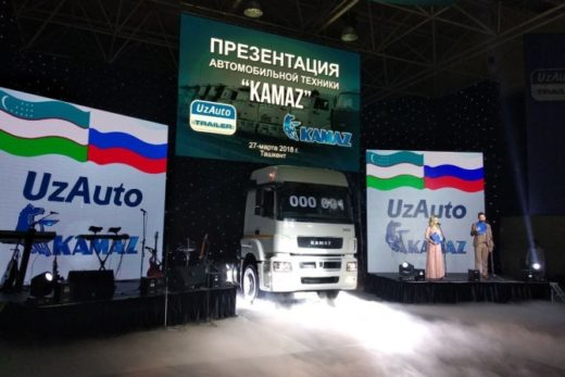 cc315150ea12c11ca0cd09b69c15a32c 520x347 - В Узбекистане началась сборка автотехники «КАМАЗ»