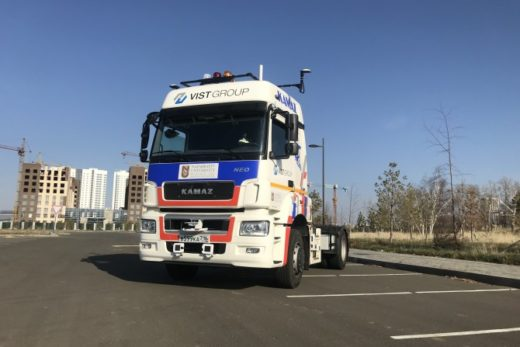 cfae003cdcdda109e77fbdeeb61255a0 520x347 - КАМАЗ представил роботизированный грузовик