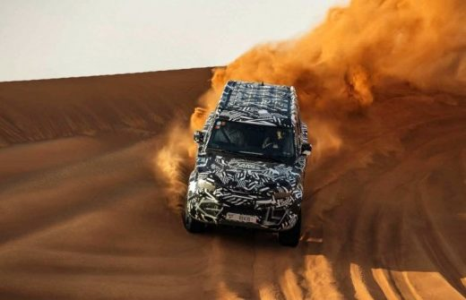 d897e7d085e5c300aca095662bd043af 520x335 - Стали известны подробности о новом Land Rover Defender