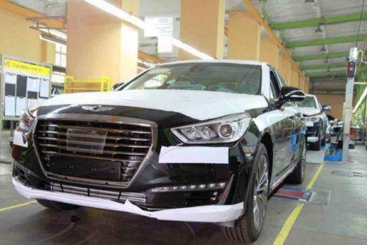 de444b24052197755732805344104384 520x347 - «Автотор» начал выпуск премиального седана Genesis G90