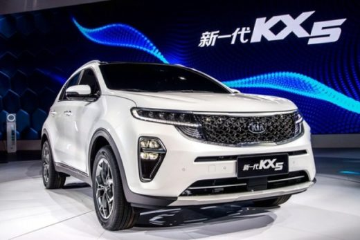 e27cf591ee8189bc1439dfdaa2c5d807 520x347 - KIA представила обновленный кроссовер KX5 для китайского рынка