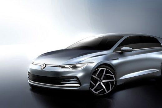 e3e090c45e42c3303d942c4973901d55 520x347 - Volkswagen рассекретил внешность и интерьер нового Golf