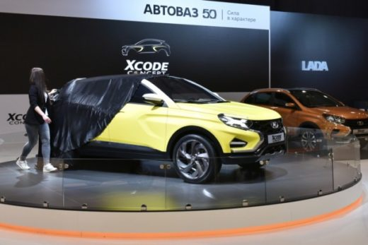 f48a21c4391cdf6ab76a550ec1a19b3f 520x347 - Концептуальный кроссовер LADA XCODE представлен на тольяттинском автосалоне