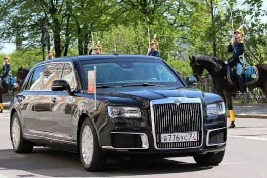 f851111c3a0699928cc42c4e9e2439b7 520x347 - Отечественный лимузин для президента представлен на инаугурации Владимира Путина