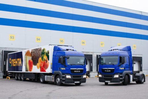 ff342a903336f933c899c4cf6c00436a 520x347 - Крупная партия грузовиков MAN TGS передана компании «Лента»